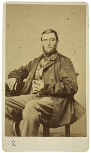 Portret van Wopke de Gavere (1828-1900)