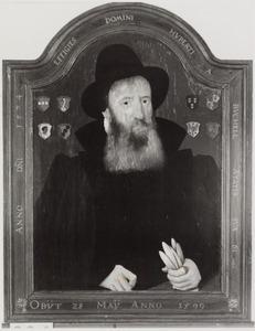 Portret van Hubertus Edmondus van Buchell (1513-1599)