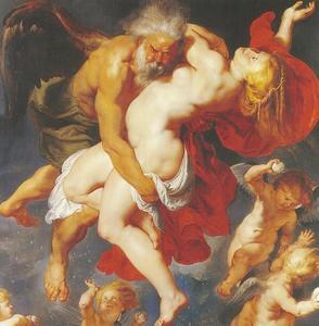 Boreas ontvoert Oreithya (Ovidius, Met. VI)