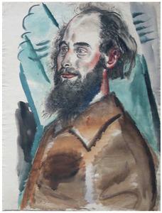 Portret van Jacob Kuijper (1919-2007)