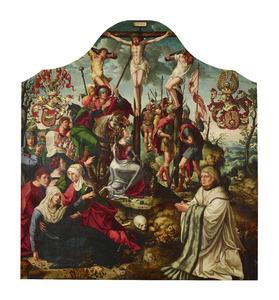 De kruisiging met stichtersportret