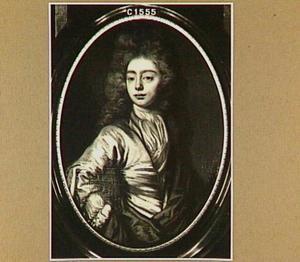 Portret van een man, wellicht voorstellende Kerst Fabius (1646-1716)