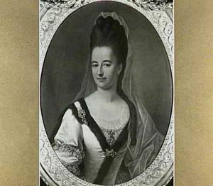 Portret van Maria Catharina Dierkens (1747-1826), echtgenote van Johan Adriaan van Westreenen
