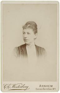 Portret van Henriette Sophie van den Bosch (1853-1939)