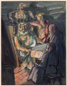 Bezoek van Jupiter en Mercurius aan Philemon en Baucis (Ovidius 8: 611-724)