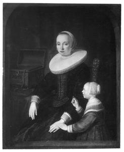 Portret van een moeder met kind