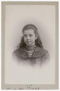 Portret van Geertruida Catharina van Buttingha Wichers (1891- )