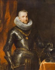Portret van Marchese Ambrogio Spinola (1569-1630), opperbevelhebber der Spaanse troepen