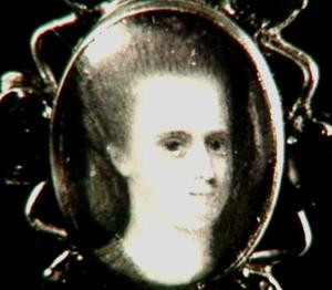 Portretminiatuur van Maria Margaretha Witte (1714-1748)