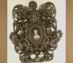 Portretminiatuur van een vrouw, mogelijk Barbara Beyer