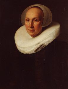 Portret van een vrouw, mogelijk Margriet Benningh (1565- )