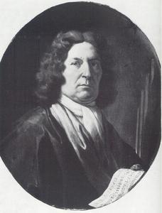 Portret van de componist Bernardo Pasquini