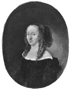 Portret van Vibeke Rozenkrantz Pallesdatter (?-1708/09) vrouw van Erik Krag
