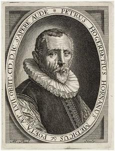 Portret van Petrus Hogerbeets (1542-1599)