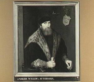 Portret van Andries Willem van Oudshoorn van Sonnevelt (?-1555)