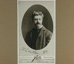 Portret van de schilder Johannes Hubertus Leonardus de Haas