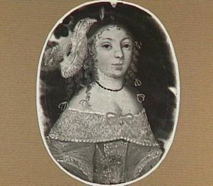 Portretminiatuur van Jacoba Buol-Strasberg (1638-1686)