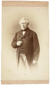 Portret van Frederik Willem Krieger (1805-1881)