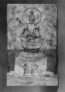 Boeddha en karbouw