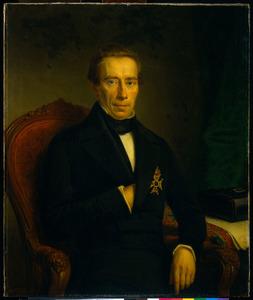 Portret van  Johan Rudolf Thorbecke (1796-1872)