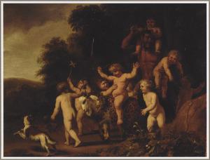 De triomf van de jonge Bacchus