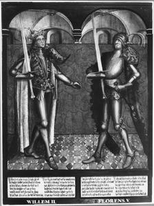 Haarlemse gravenportretten: Willem II en Floris V