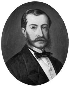 Portret van Marc Willem du Tour van Bellinchave (1835-1908)
