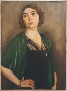 Portret van Berthe Seroen (1882-1957)
