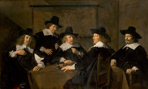 Regenten van het Grote of St. Elisabeth Gasthuis, Haarlem 1641