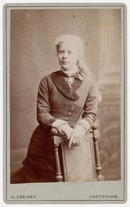 Portret van Corrie de Wilde