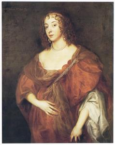 Portret van Elizabeth Howard