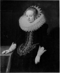 Portret van Sara Gheel (1599-1678)