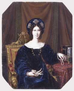 Portret van Wilhelmina van Pruisen (1774-1837)