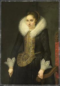 Portret van Catharina Fourmenois (1598-1665)