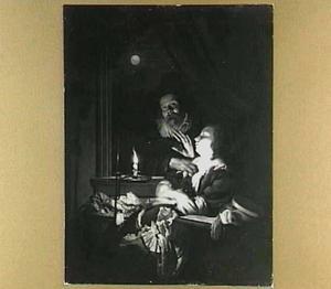 Kaarslichtje (allegorie op de ondeugd)