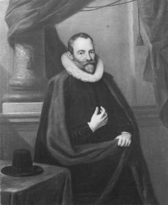 Portret van Hans Martens (1555-1613), echtgenoot van Mayken Baccher