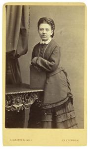 Portret van Hermina Elisabeth Heineken (1846-1937)
