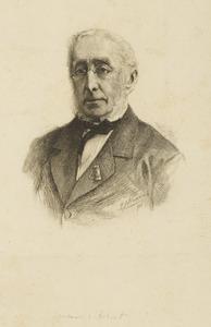 Portret van Jacob de Vos Jzn. (1803-1878)