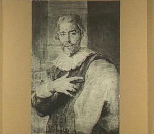 Portret van de graveur Jan Baptiste Barbé (1578-1649)