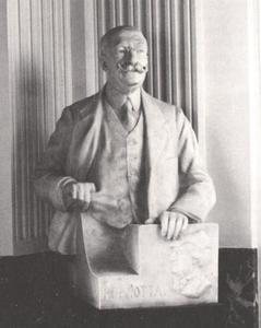 Portret van Henricus Anastasius Viotta (1848-1933)