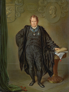 Portret van Johan Melchior Kemper (1776-1824)
