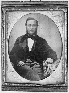 Portret van een man, mogelijk Hendrik Willem Jordens (1807-1881)