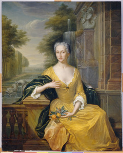 Portret van Maria Allegonda Meerman (1689-1744)