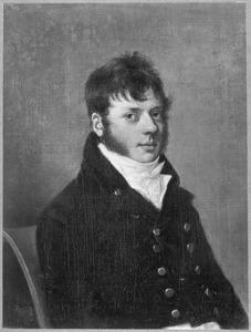 Portret van een man genaamd Hendrik Willem Jacob Baron van Tuyll van Serooskerken (1778-1824)