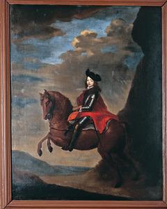 Portret van Marten Albert van Isendoorn à Blois (1659-1688)