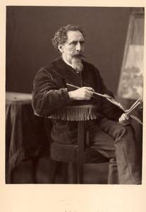 Portret van Samuel Verveer (1813-1876)
