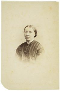 Portret van Pauline Henriette Marie van der Heim (1829-1873)