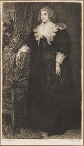 Portret van Anna van Craesbeke, echtgenote van Joost de Hertoghe