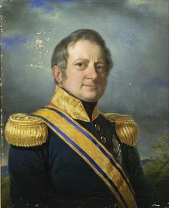 Portret van de gouverneur-generaal Merkus baron de Kock (1779-1845)