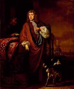 Portret van Abraham van Bronckhorst (1656-....)